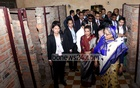 Hasina visits Genocide Museum in Cambodia, pays tribute to 'father prince'