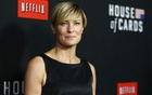File Photo - Cast member Robin Wright poses at the premiere for the second season of the television series