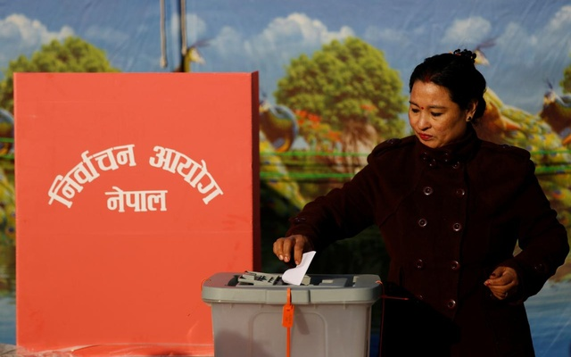 Voting Underway For Second Phase of Nepal Federal Parliament & Provincial Elections