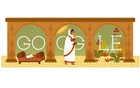 Search engine giant Google celebrates Beum Rokeya's 137th birthday with a Doodle.