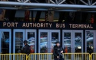 Police officers stand guard outside the New York Port Authority Bus Terminal in New York City, US December 11, 2017 after reports of an explosion. Reuters