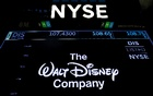 A screen shows the trading info for The Walt Disney Company company on the floor of the New York Stock Exchange (NYSE) in New York, US, Dec 13, 2017. Reuters