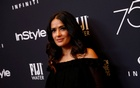 FILE PHOTO: Actor Salma Hayek attends the Hollywood Foreign Press Association (HFPA) and InStyle celebration of the 75th Annual Golden Globe Awards season at Catch LA in West Hollywood, California, U.S. November 15, 2017. Reuters