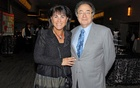 Honey and Barry Sherman, Chairman and CEO of Apotex Inc., are shown at the annual United Jewish Appeal (UJA) fundraiser in Toronto, Ontario, Canada, August 24, 2010. Picture taken August 24, 2010. The Globe and Mail/Janice Pinto/via REUTERS