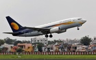 File Photo: A Jet Airways passenger aircraft takes off from the airport in the western Indian city of Ahmedabad, India, Aug 12, 2013. Reuters