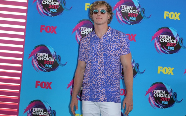 Actor Logan Paul arrives at the 2017 Teen Choice Awards in Los Angeles, California, US Aug 13, 2017. Reuters