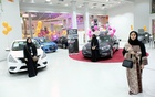 Saudi women are seen at the first automotive showroom solely dedicated for women in Jeddah, Saudi Arabia January 11, 2018. Reuters