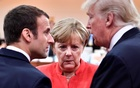 Merkel could join Macron in Davos for epic clash with Trump