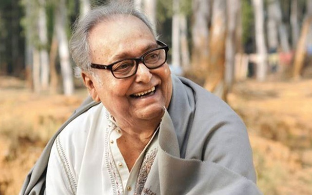 Actor Soumitra Chattopadhyay
