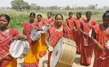 Mahila Sargam. Screengrab of a video from the YouTube channel of People's Archive of Rural India or PARI.