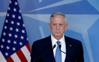 US Defence Secretary Jim Mattis briefs the media during a NATO defence ministers meeting at the Alliance's headquarters in Brussels, Belgium Feb 15, 2017. Reuters
