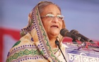 Hasina rolls out election campaign as she visits Sylhet