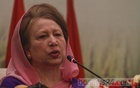 Khaleda asks BNP leaders to have courage, says 'she is always with them'