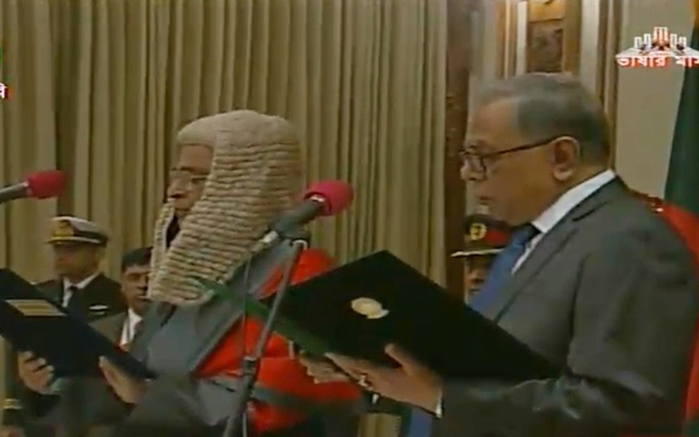 New CJ Syed Mahmud Hossain sworn in