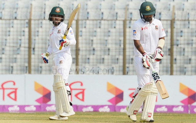Mominul, Liton take Bangladesh close to safety