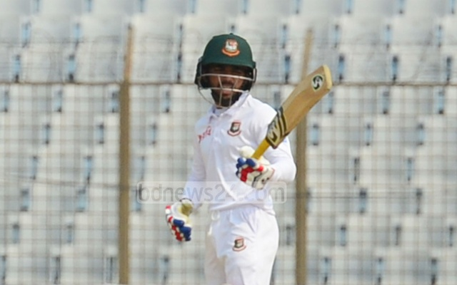 Mominul Haque scores second century in Chittagong Test