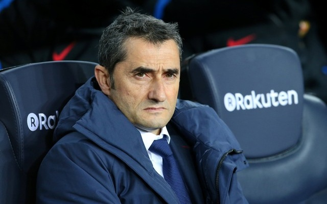 Spanish King's Cup - FC Barcelona vs Celta Vigo - Camp Nou, Barcelona, Spain - January 11, 2018 Barcelona coach Ernesto Valverde. Reuters