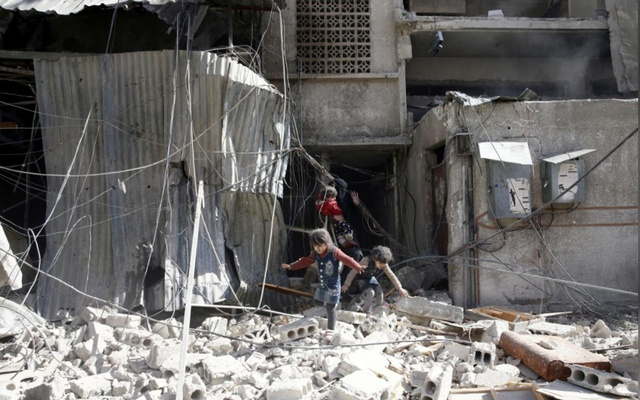 More than 200 civilians dead after bloody week in Syria