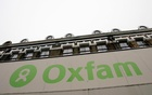 File Photo: The Oxfam logo is seen on a signage outside a store in Dalston in east London, Britain Nov 28, 2008. Reuters