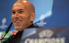 Champions League - Real Madrid Press Conference - Ciudad Real Madrid, Madrid, Spain - February 13, 2018 Real Madrid coach Zinedine Zidane during the press conference. Reuters