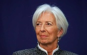 Christine Lagarde, Managing Director of the International Monetary Fund (IMF), attends a conference on
