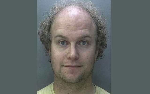 Geophysicist Dr Matthew Falder, 28, of Edgbaston, Birmingham, who is originally from Cheshire and a Cambridge University graduate, is seen in an undated booking photograph handed out by the National Crime Agency after he pleaded guilty to 137 offences at Birmingham Crown Court, Britain, Oct 16, 2017. Reuters
