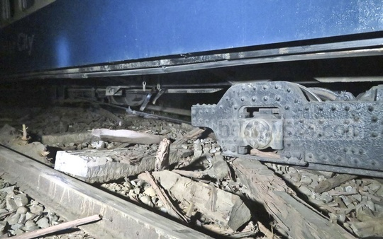 Rail links between Sylhet and the rest of the country snapped for around 16 hours when 11 compartments of the Dhaka-bound Upaban Express derailed at Satgaon in Sylhet at around 1am on Friday. Some of the wheels of broke apart during the derailment.
