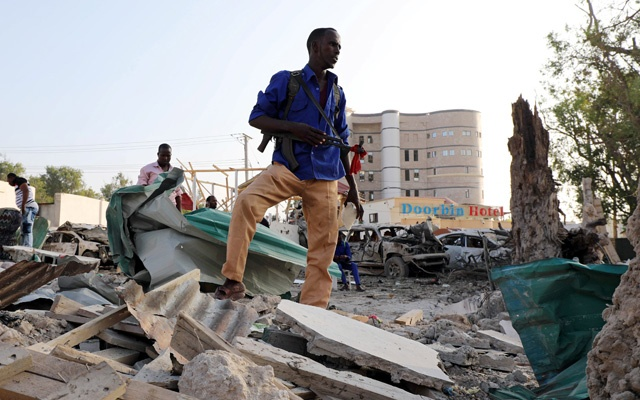 Killed in Mogadishu Blasts
