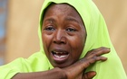 A relative of one of the missing school girls reacts in Dapchi in the northeastern state of Yobe, after an attack on the village by Boko Haram, Nigeria Feb 23, 2018. Reuters