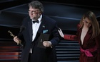 90th Academy Awards - Oscars Show - Hollywood, California, US, 04/03/2018 - Guillermo del Toro accepts the Oscar for Best Director for