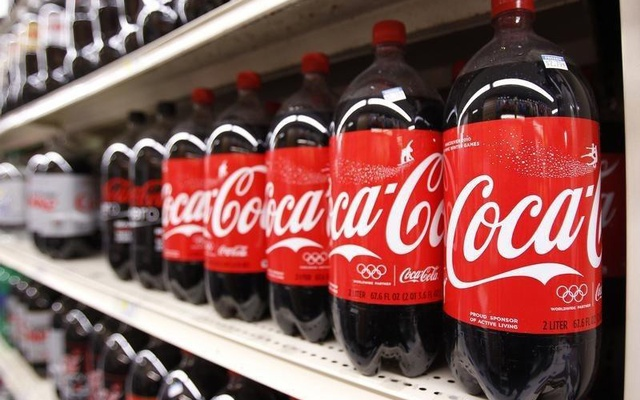 Bottles of Coca Cola are seen in a store display in New York Feb 9 2010. Reuters
