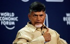 N Chandrababu Naidu, chief minister of Andhra Pradesh, speaks during the India Economic Summit 2014 at the World Economic Forum in New Delhi Nov 6, 2014. Reuters