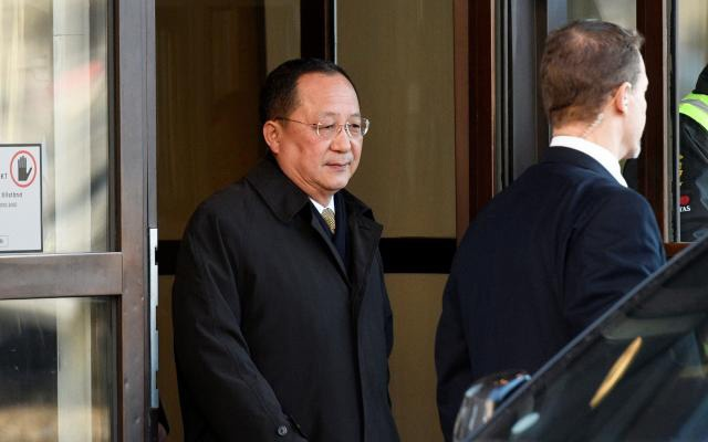 North Korean minister's surprise Sweden visit fuels speculation over Trump talks