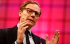 File Photo: CEO of Cambridge Analytica, Alexander Nix, speaks during the Web Summit, Europe's biggest tech conference, in Lisbon, Portugal, Nov 9, 2017. Reuters