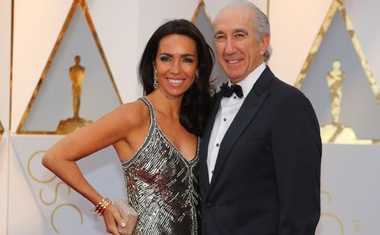 Gary Barber and Nadine Barber. 89th Academy Awards - Oscars Red Carpet Arrivals - Hollywood, California, US - 26/02/17. Reuters