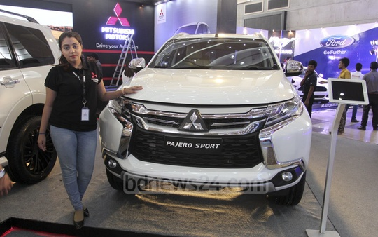 The three-day Dhaka Motor Show 2018 got under way on Thursday at the Bashundhara International Convention City in Dhaka. Photo: asif mahmud ove