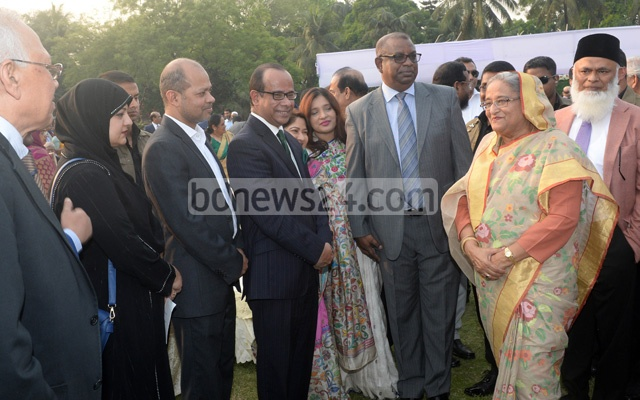 Sheikh Hasina invited bank owners to the Ganabhaban on Tuesday.