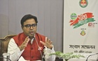 Dhaka South City Mayor Sayeed Khokon speaks at an inaugural event on 'Dettol Parichhanna Dhaka' on Wednesday.