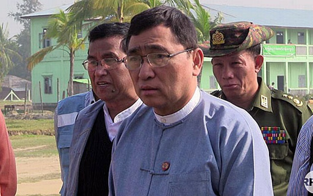 Win Myat Aye, Myanmar's minister of social welfare, relief, and resettlement, in an undated photo. RFA