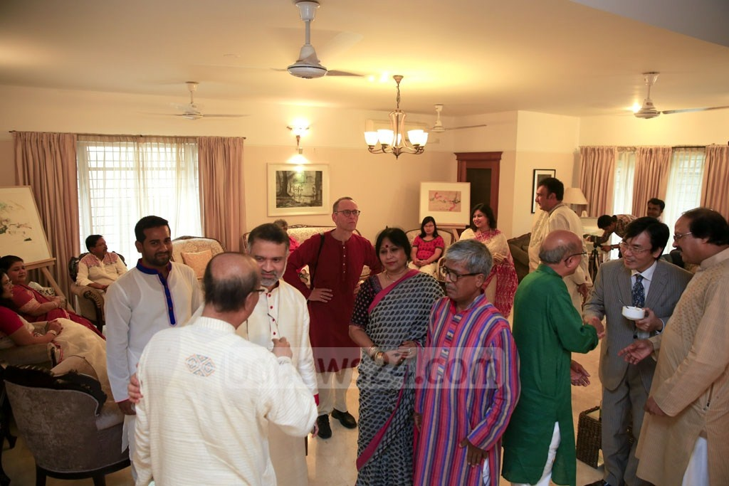 Guests at bdnews24.com's Pahela Baishakh celebrations to welcome Bangla New Year 1425.