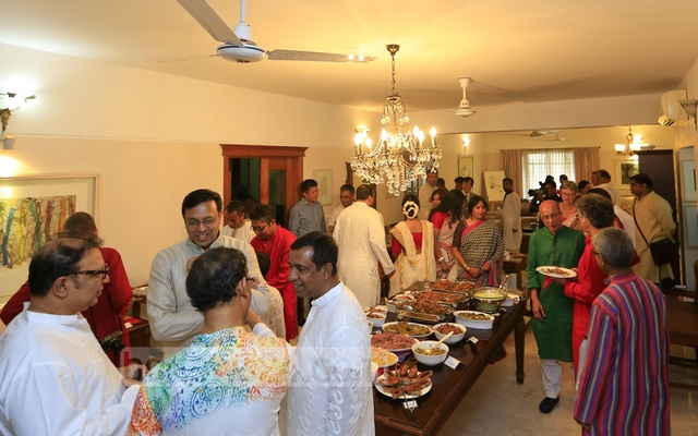 Leaders of different fields join bdnews24.com's Pahela Baishakh celebrations.