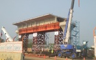Work in full swing to make metro rail project 'visible' by June