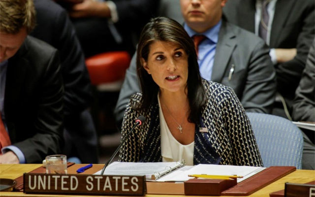 Nikki Haley is the latest in a long list of senior staff members to leave the Trump administration. Reuters