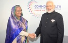 Hasina meets Modi in London during Commonwealth conference