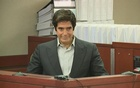 Magician David Copperfield attends a court hearing on trick that led to man's injury. Reuters