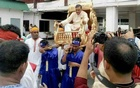 Photos of home minister, police chief, RAB DG's palanquin rides go viral