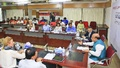 A view of the roundtable titled 'Let's Save Every Newborn: Election Pledge Needed' organised by bdnews24.com in partnership with Unicef in Dhaka on Wednesday.