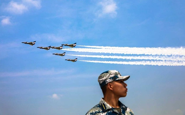 China Sent Fighter Jets Near Taiwan For A Military Drill