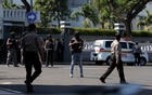 Suicide bomber on motorbike wounds police in Indonesia's Surabaya