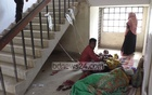 File Photo: Patients lie on the floor due to a lack of beds at a hospital in Jhenaidah.